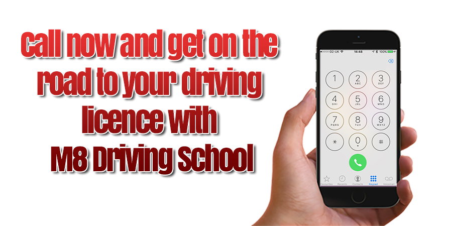 Get on the road to success with a DVSA approved driving instructor at M8 Driving School